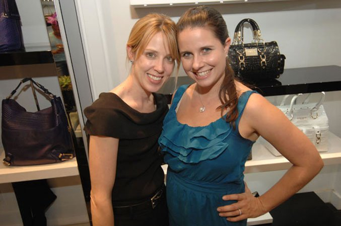 Angela Oxenberg and Anne-Marie Shaffer