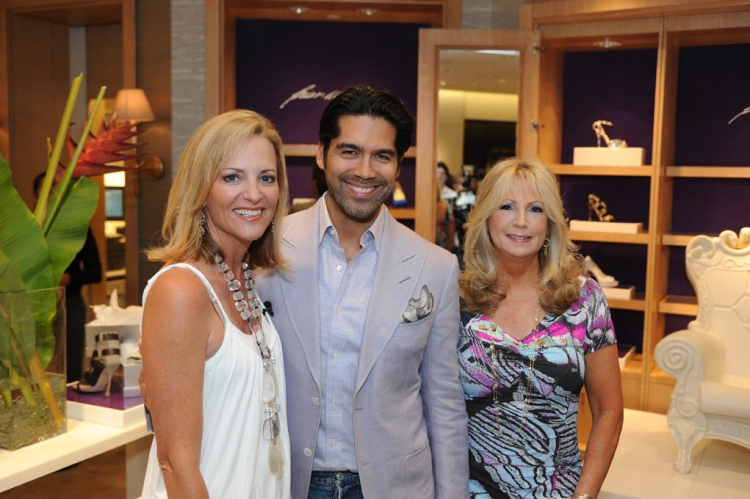 Lisa Petrillo, Brian Atwood and Deborah Slack, photo by Downtown Photo