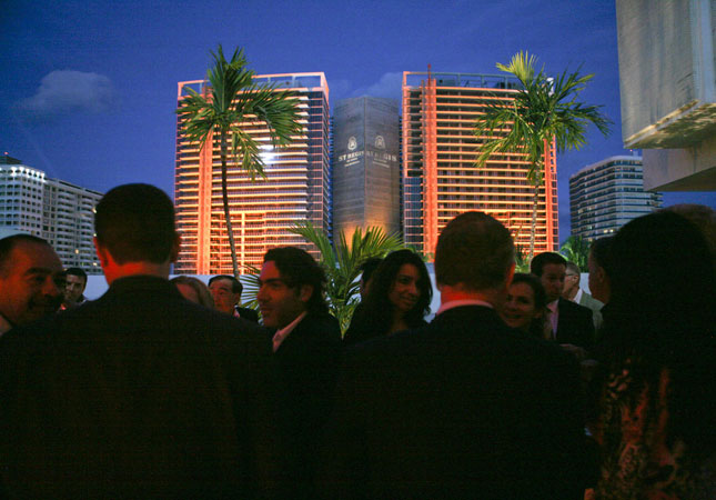 St. Regis Topping-Off Party