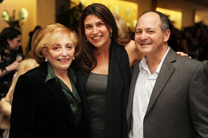 Bal Harbour mayor Jean Rosenfield, Carolyn Travis and Alfred Treppeda