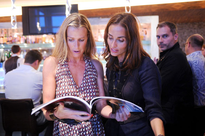India Hicks and Leticia Grendene