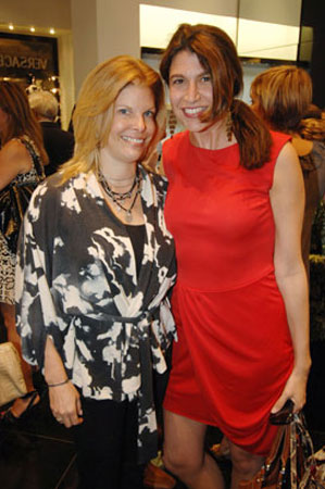 Leslie Wolfson and Carolyn Travis