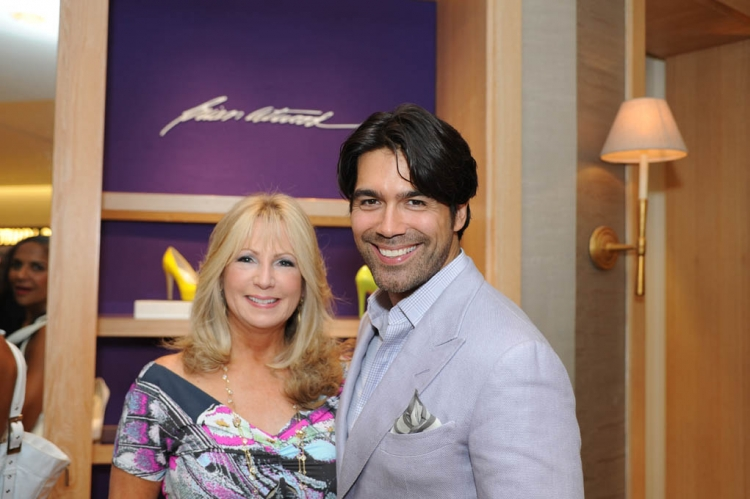 Deborah Slack and Brian Atwood, photo by Downtown Photo