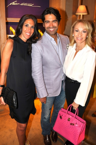 Kelly Gold, Brian Atwood and Lea Black