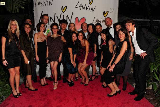 The Lanvin Creative Team