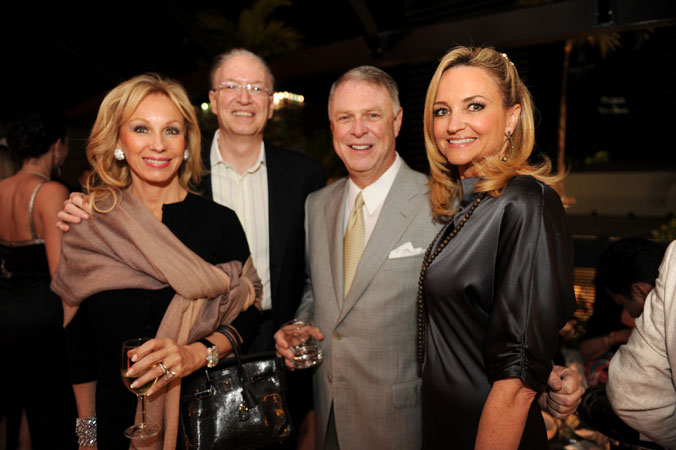 Leah and Roy Black, Bruce Weiner and Nina Rudolph