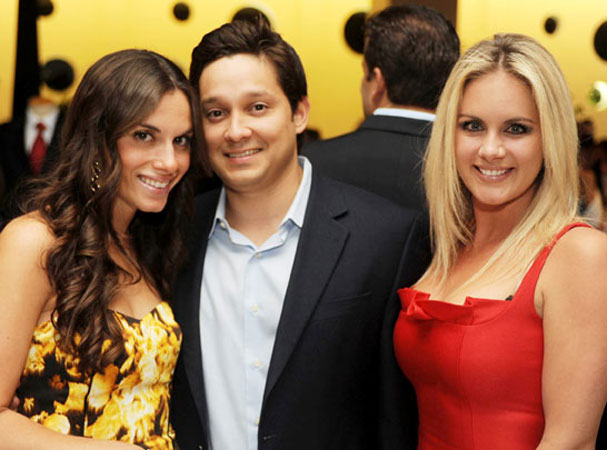 Jacqueline Riley, Carlos Albir and Brook Gettler