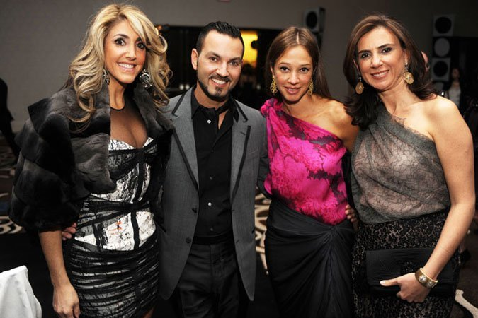 Jillian Jacobson-Altit, Lazaro Arias, Alisa Romano and Francesca Halpryn