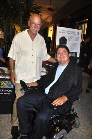Dolphins great Dick Anderson and Marc Buoniconti