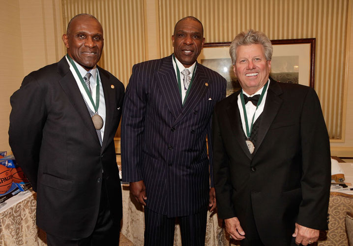 Harry Carson, Andre Dawson and John Force