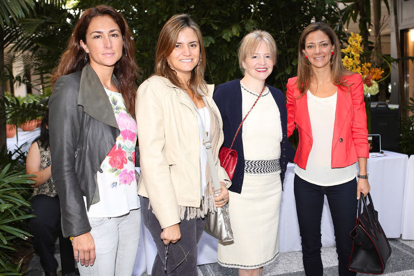 Paula Sanchez, Claudia Lopez, Maria Pia Leon and Liliana Paez