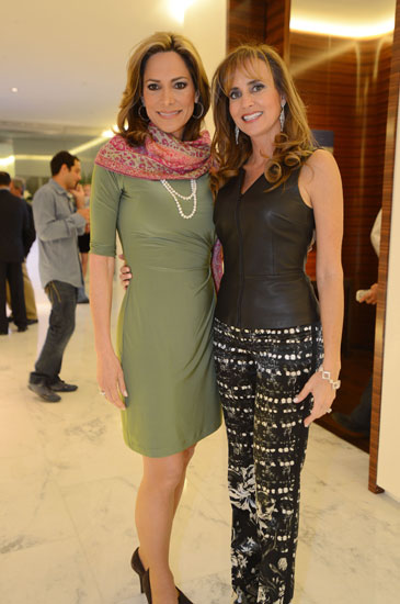 Maria Elvira Salazar and Ana Cristina Defortuna