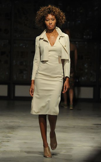 A look form Akris´ Spring 2014 collection