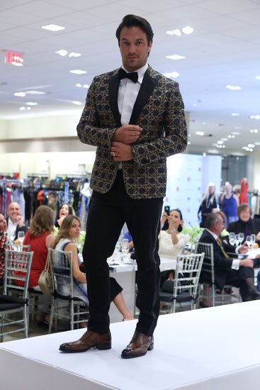 Model wearing the latest Neiman Marcus Bal Harbour Spring 2014 Collections
