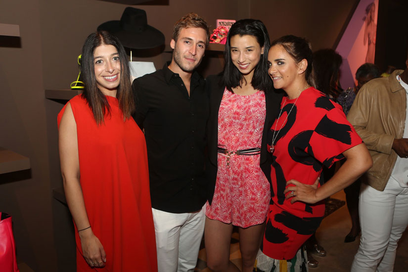 Stephanie Mark, Jake Rosenberg, Lily Kwong and Laure Heriard Dubreuil