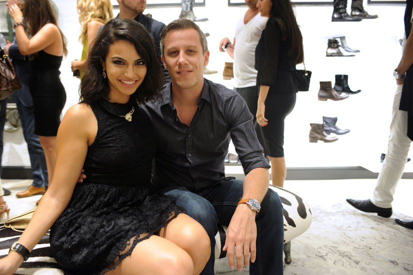 Victoria Sampaio and Kevin Coster