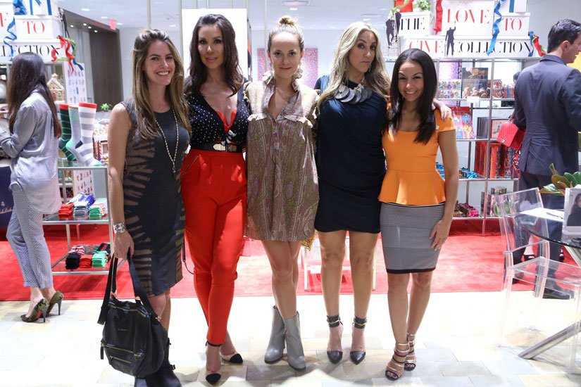 Ashley Turchin, Andreea Baclea, Erin Newberg, Jillian Jacobson and Gotmar Giron
