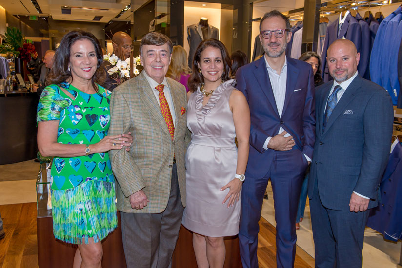 Linda Levy Goldberg, James Murphy, Soraya Rivera-Moya, Matteo Cima and Robert Carratini