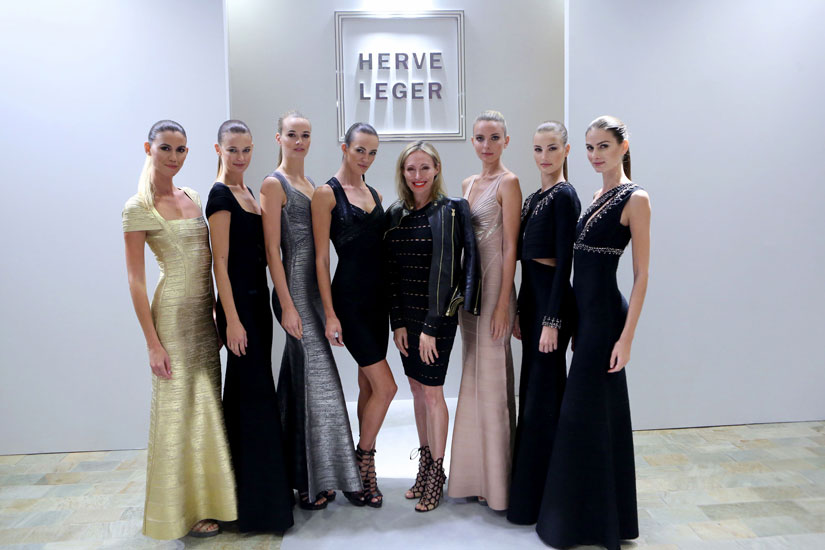 Lubov Azria Presentation of the Herve Leger Hoilday and Resort 2015 Collection