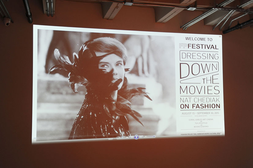 "Fashion Project Film Festival Kick-Off Event ""Dressing Down the Movies"""