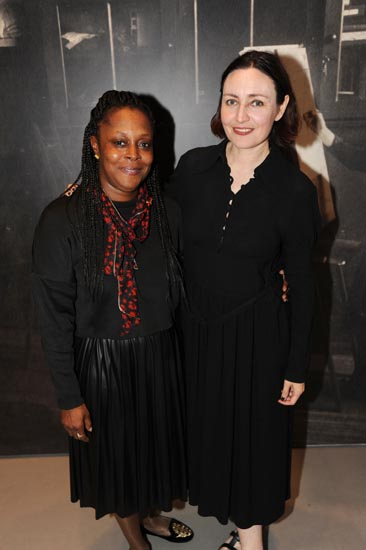Collette Campbell-Powell and Judith Clark