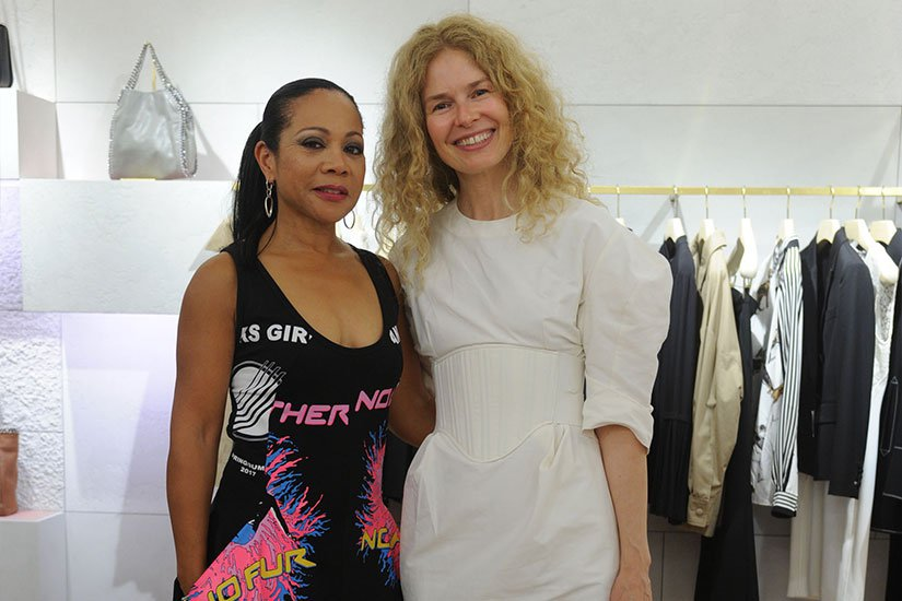 Saks Fifth Avenue Hosts Stella Mccartney Event Along With Teresa Foxx And Chapman Partnership