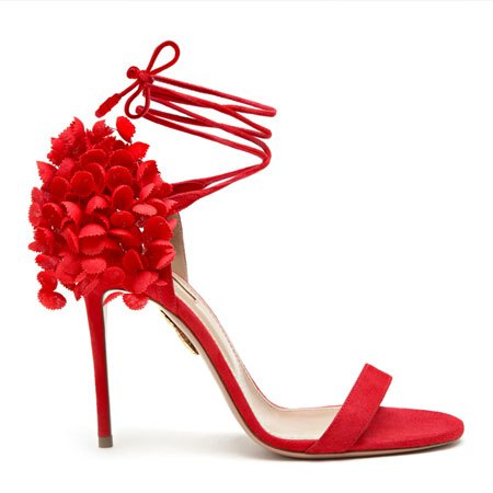 Aquazzura's Lily of the Valley Sandal