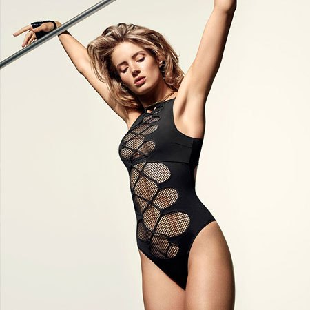 One of Agent Provocateur's new sporty yet sexy swimsuit