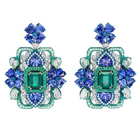 Chopard earrings from the Red Carpet collection
