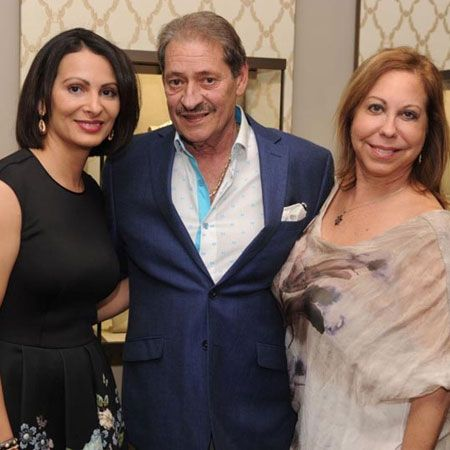 Erika Miranda, Alfred Esteves and Nancy Esteves