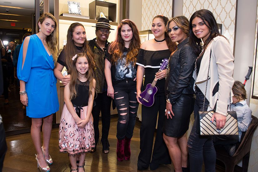 Lucrezia Buccellati, Catarina De Luca, Camila Pocovi (the little one), Betty Wright, Priscila Marie Vergel, Jazlyn Rose Ortiz, Orianne Collins, and Renata Munoz