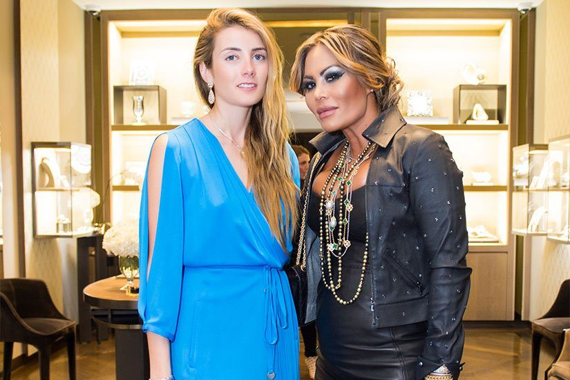 Lucrezia Buccellati and Orianne Collins