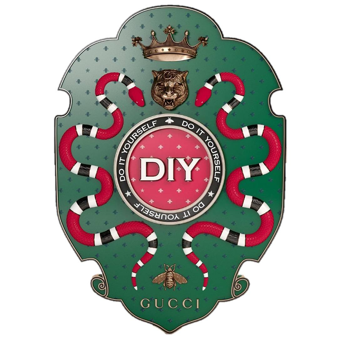 Gucci DIY Badge