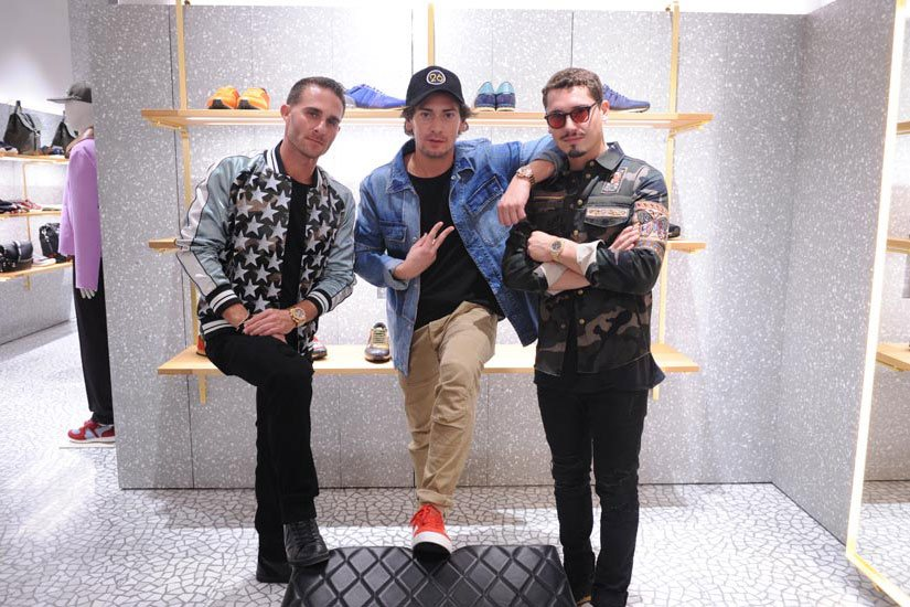 Brett David, Tommy Cabrerizo and Cris Cab
