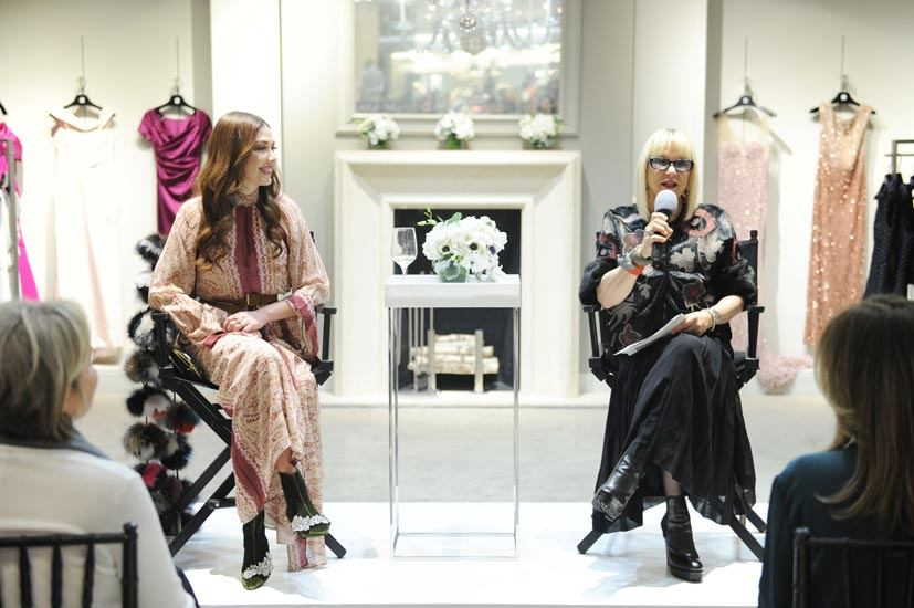 Shireen Sandoval and Elysze Held Speaking