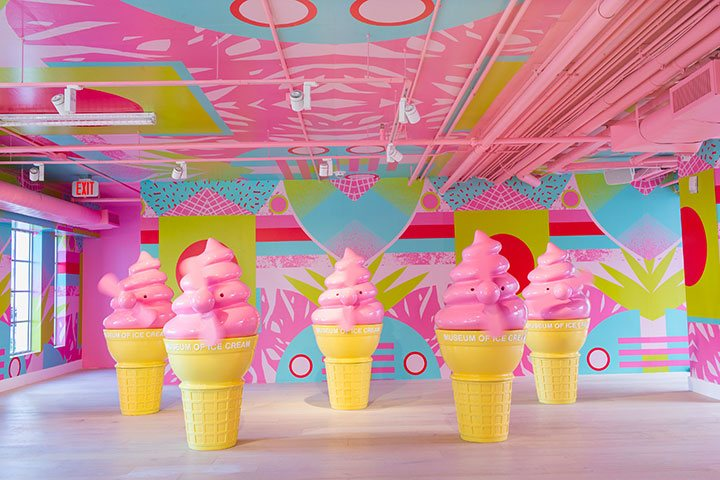 Inspired by Miami's plethora of multi-cultural artistic influences, FAN-TASTIC cheers you on to free yourself and dance your way through the Museum of Ice Cream experience.