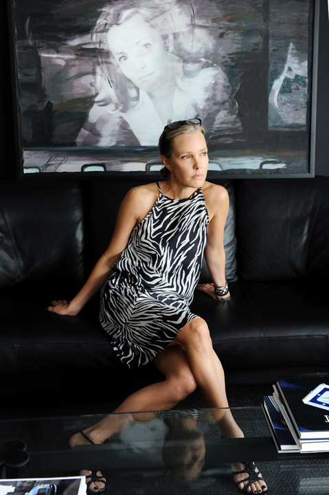 Marie France Van Damme Photographed in her home in Hong Kong | Photo Credit: Sabrina Sikora.