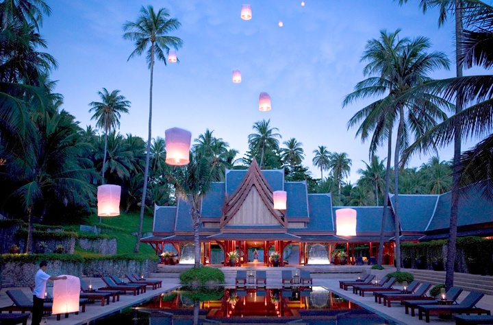 Aman Resort's flagship location, Amanpuri, in Phuket, Thailand.