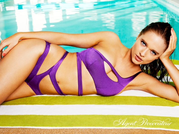 Lexxi purple bikini from the Spring/Summer 2018 collection.