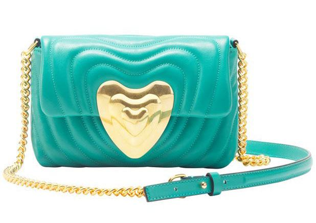 Small Leather Heart Bag.
