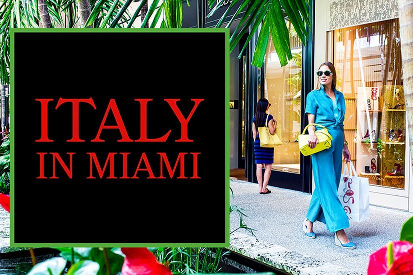 """Italy in Miami"" at Bal Harbour Shops"