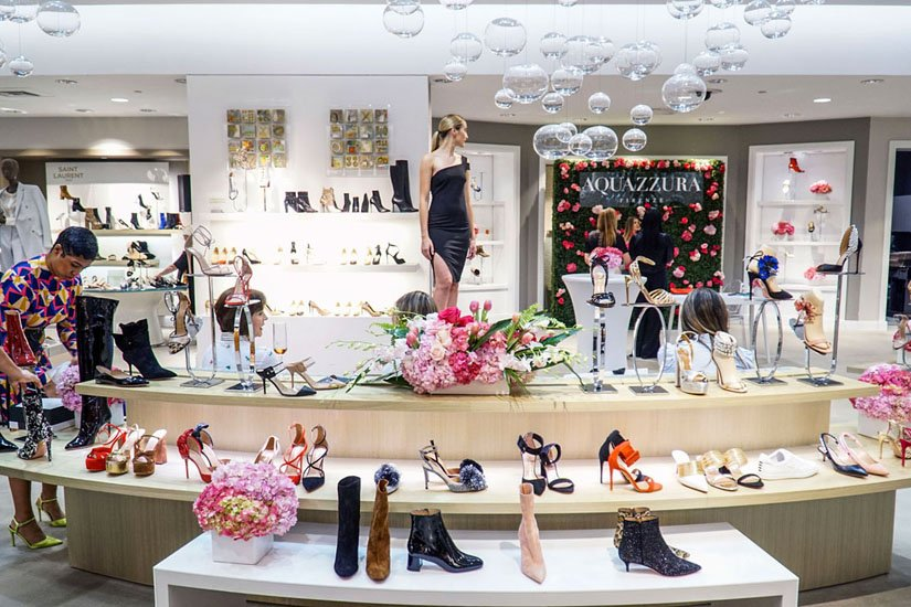 Saks Fifth Avenue Bal Harbour Hosts Aquazzura Luncheon with Creative Director and Founder Edgardo Osorio
