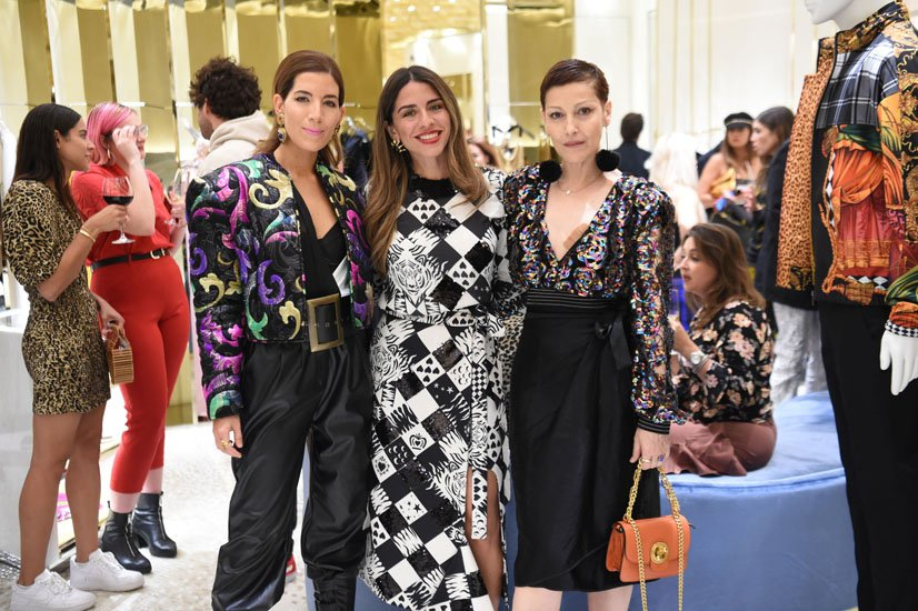 Gabriela Medina, Shantall Lacayo and Angeles Almuna