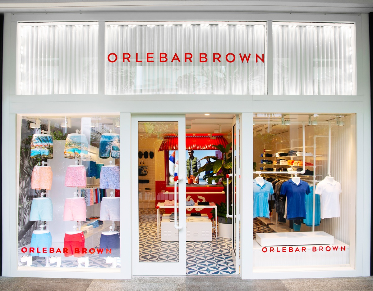 Orlebar Brown's newly opened Bal Harbour boutique.