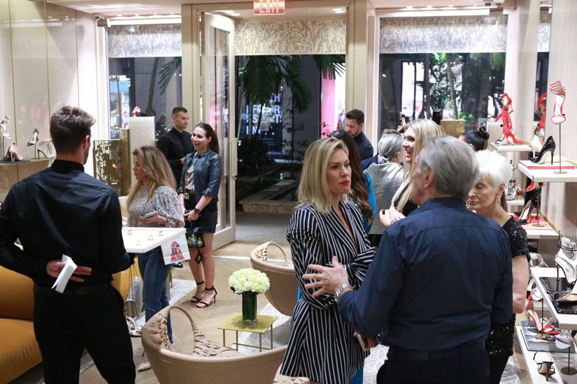 Gianvito Rossi Personal Appearance Benefiting Dress for Success