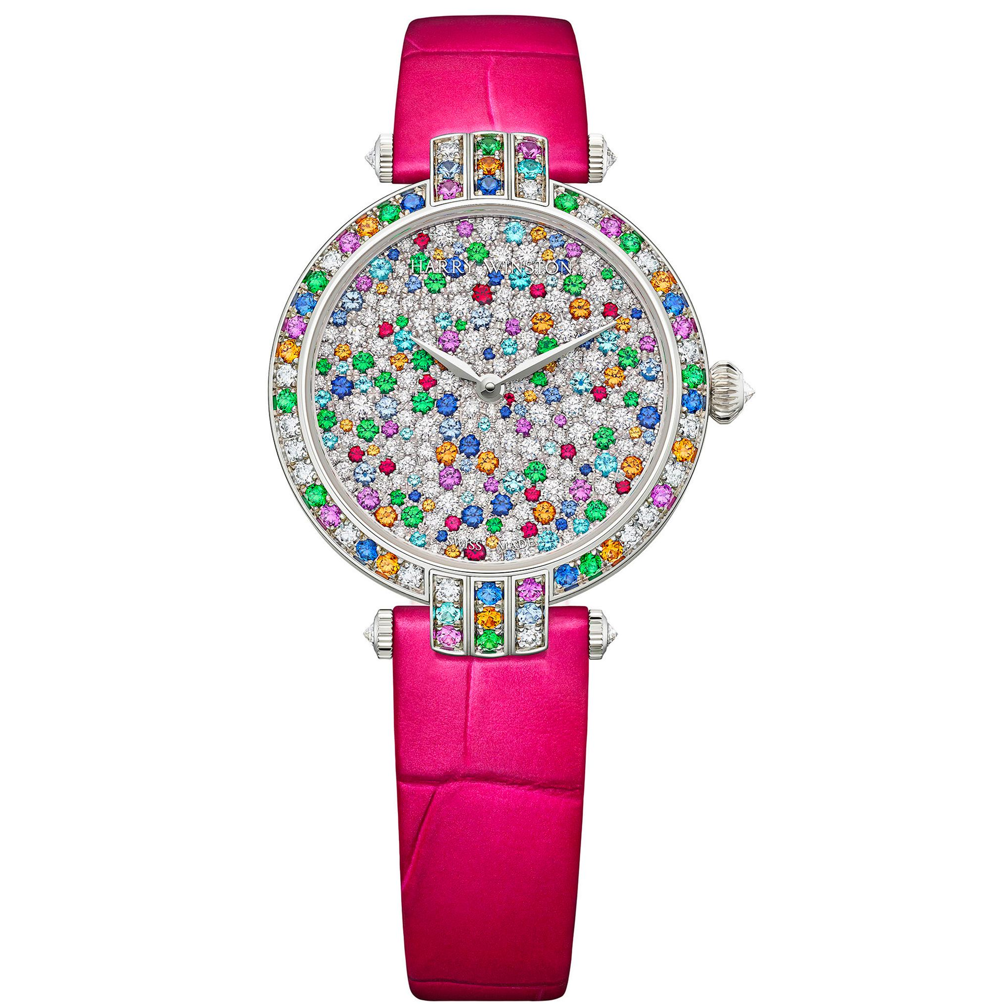 harry winston limited edition premier candy automatic 31 mm timepiece for women