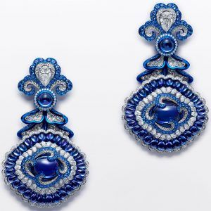 Chopard Red carpet earrings