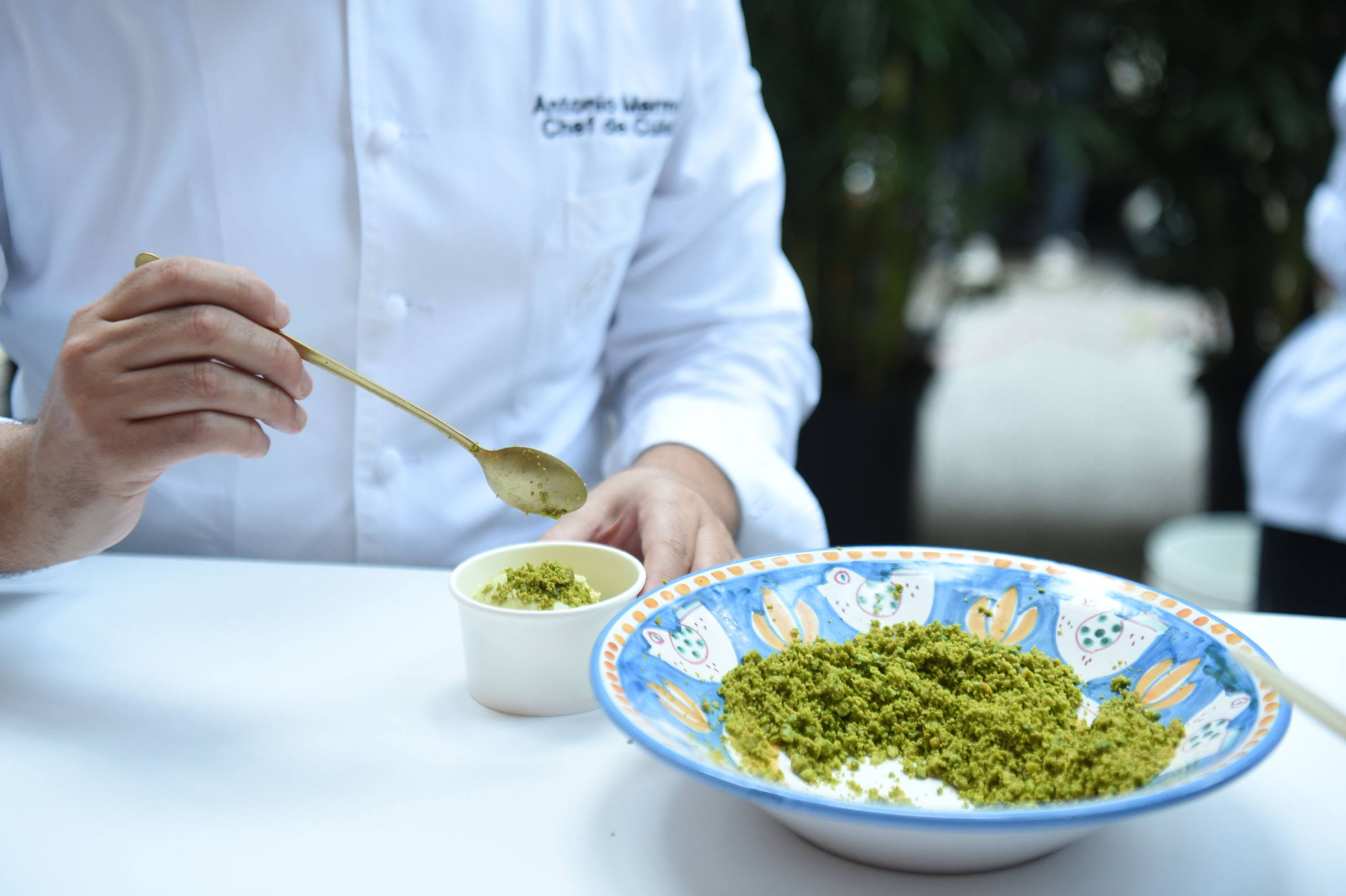 Le Sirenuse Miami featured their signature Pistachio Gelato