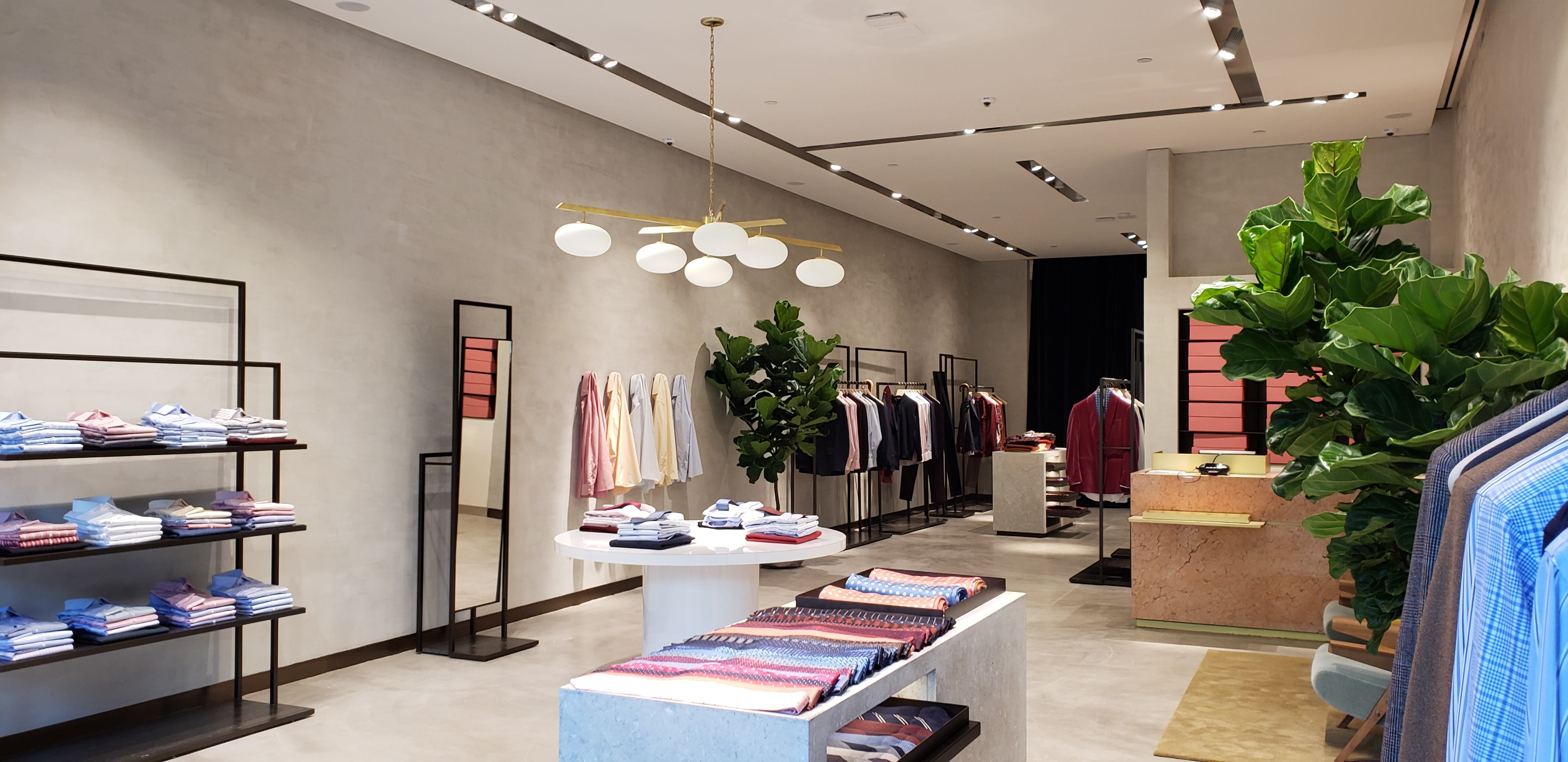 inside pink shirtmaker london bal harbour shops