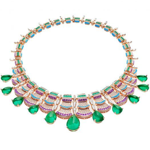 High Jewelry necklace from Bulgari